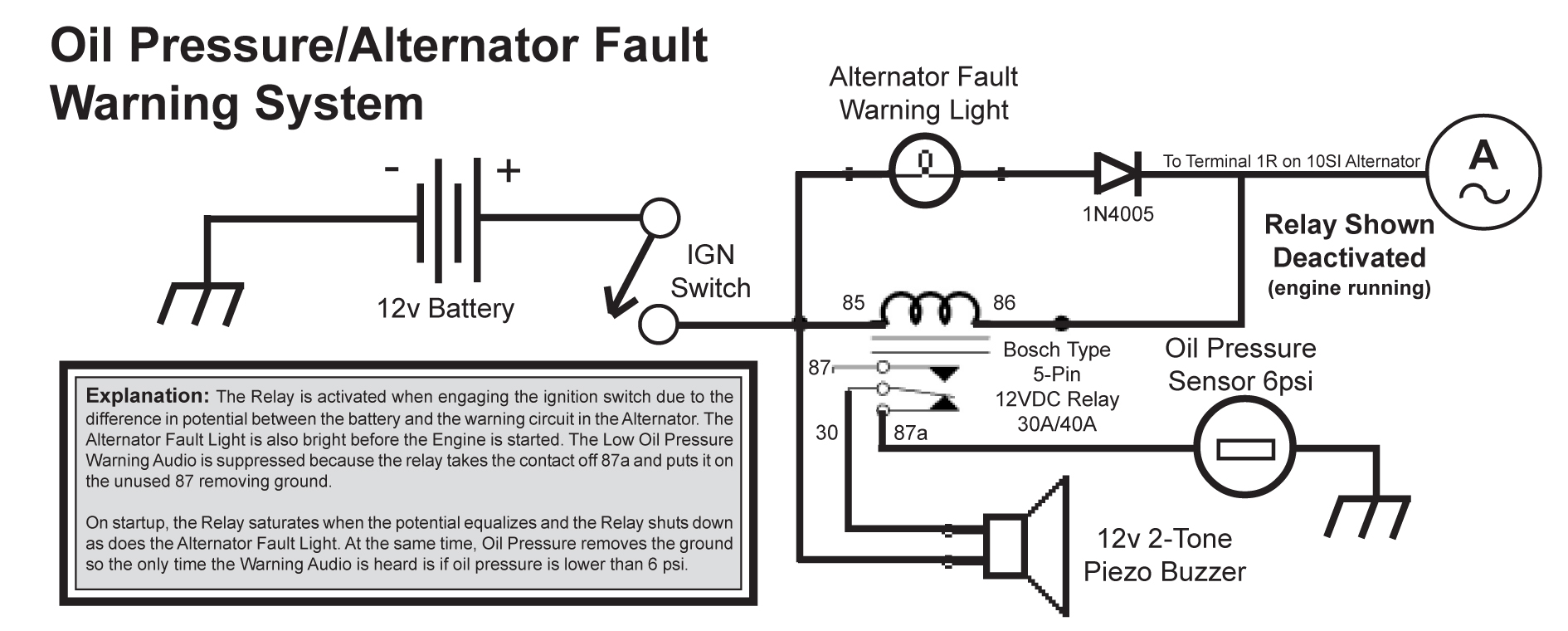 Wiring Oil Pressure Gauge Warning Lights Diagrams Apc Probe Diagram Returnless Fuel Injection Free Engine 2012 Chevy Sensor Electric Install