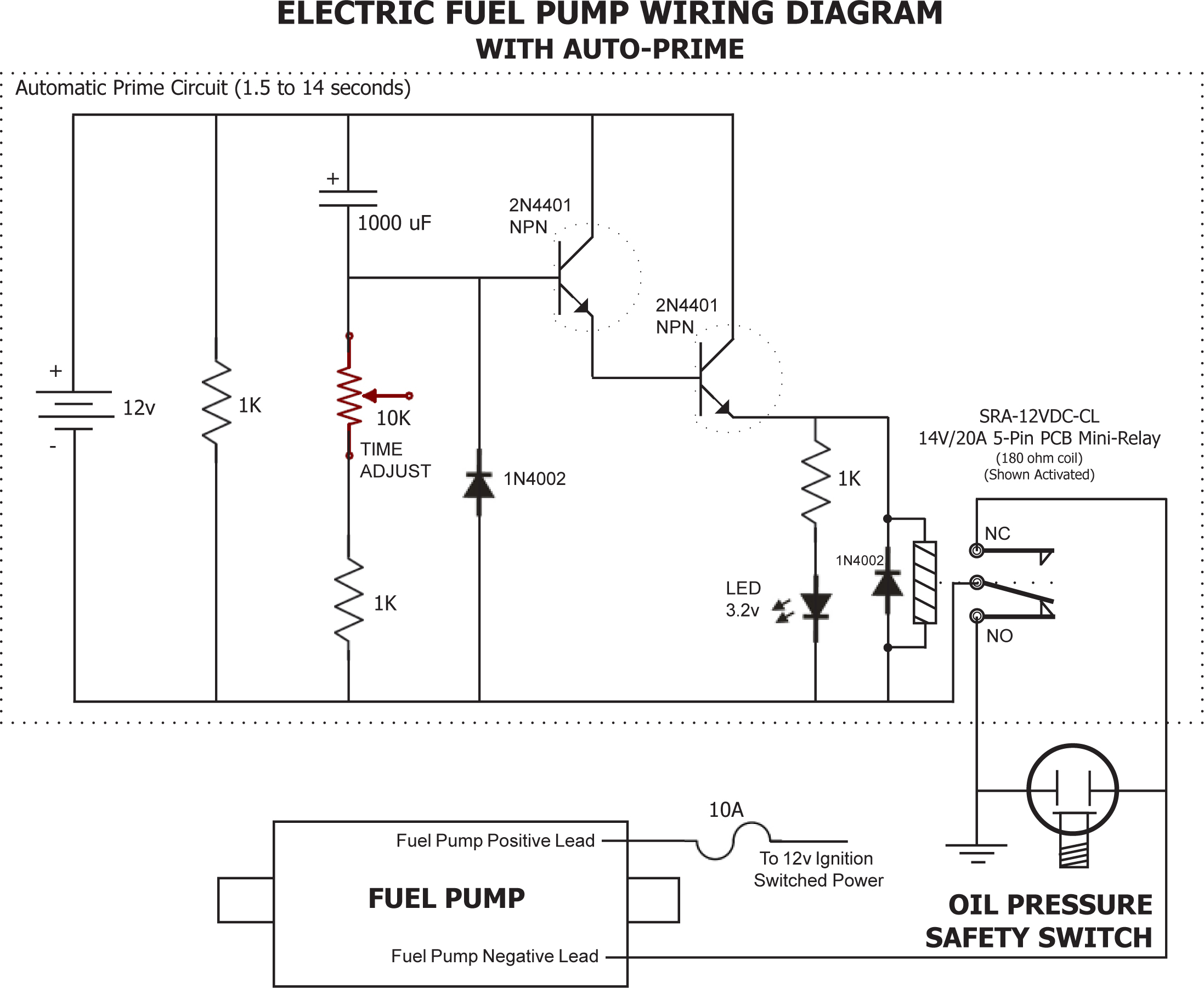 Boat Wiring Diagrams On Marine Electric Fuel Pump Wiring Diagram